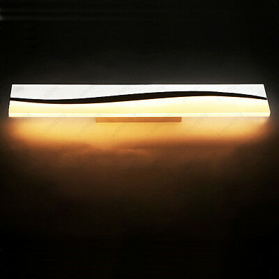 Up/Down 24W LED SMD Wall Sconce Lamp Mirror Front Light Fixture Acrylic Washroom