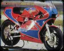 Ducati Tt1 83 A4 Metal Sign Motorbike Vintage Aged
