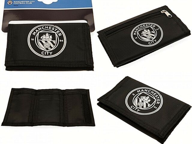 Manchester City Fc Nylon Wallet