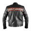Bill-Goldberg-WWE-Wrestler-Harley-Davidson-Black-Biker-Real-Leather-Jacket thumbnail 2
