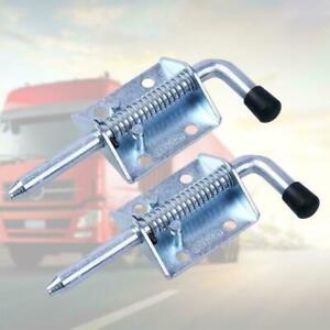 1-Pc-Metal-Lock-Barrel-Bolt-Spring-Loaded-Latch-Grip-New-Heavy-Duty-S5K0
