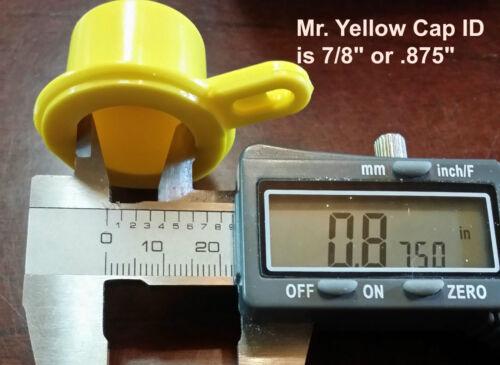 FREE Vent!! 3X BLITZ Yellow Spout Caps for gas can spouts 900302 900092 900094