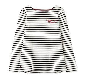 Joules-Harbour-bordado-para-mujer-Jersey-Top-faisan