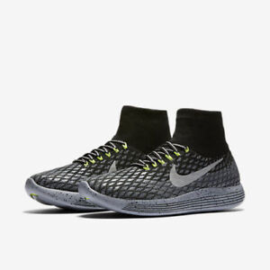 8bb9599cc897 NIKE LUNAREPIC FLYKNIT SHIELD MEN S RUNNING SHOES 849664-001 BLACK ...