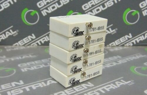 USED Lot of 5 WRC 1781-IB5S Slim I//O Input Relay Modules