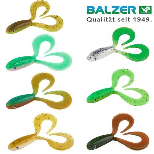 Balzer Shirasu Zander Collector 12cm UV Aktiv viele Farben Shad ZanderKöder