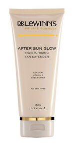 Dr-Lewinn-039-s-After-Sun-Glow-150g-Moisturising-Tan-Extender-new-in-box