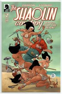 Shaolin-Cowboy-Who-039-ll-Stop-the-Reign-2-Frank-Cho-Variant-1st-Print-Dark-Horse