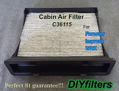 COMBO SET ENGINE /& AC CABIN AIR FILTER for Forester Impreza WRX XV Crosstrek