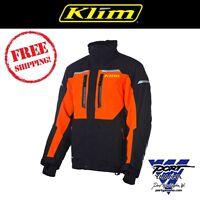 Klim Men's Orange Keweenaw Parka Gore-tex Jacket 3095-001-xxx-400 (non-current)