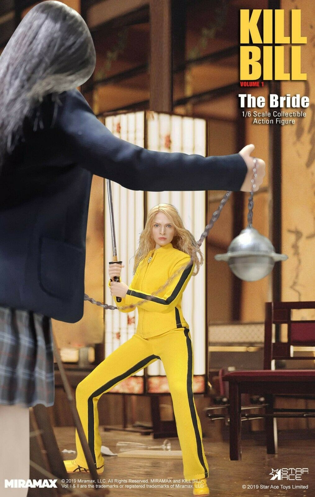 PREORDINE Kill Bill My  Favourite Movie azione cifra 1 6 The Bride  negozio di moda in vendita