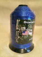 Brownell Dacron Bow String Material B-50 One Pound Spool Blue