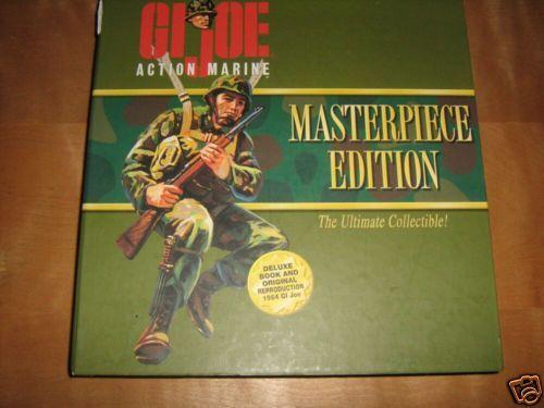 12  1 6 GI Joe Masterpiece Edition Action Marine USMC MIB & book unopened 1996