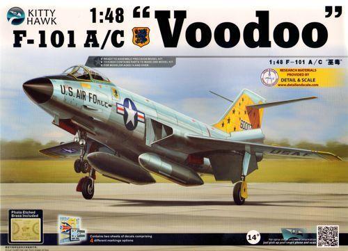 Kitty Hawk 1 48 McDonnell F-101A C Voodoo