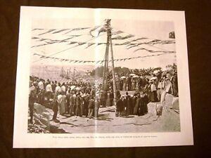 Assuan-nel-1899-Posa-prima-pietra-della-diga-del-Nilo-del-Duca-di-Connaught
