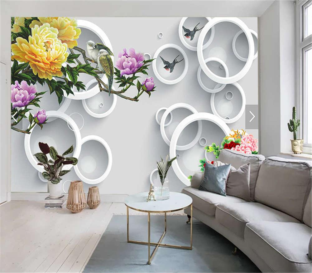 New Plentiful Petal 3D Full Wall Mural Photo Wallpaper Printing Home Kids Decor