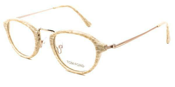 f2d7a5d07dd2 Authentic Tom Ford Eyeglasses Tf5321 060 Striped Ivory Frames Rx-able Lens  47mm for sale online