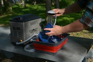 Boss Outdoor Portable Hot Water Shower System Battery