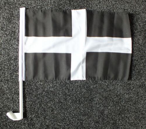 Cornwall Car Flag Cornish Kernow St Piran/'s Day Cross Celtic Celts 5th March bn
