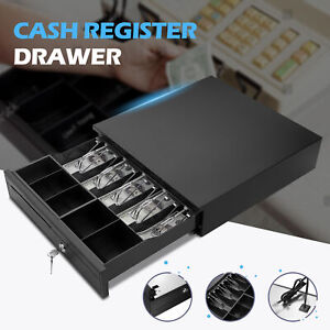5-Bill-5-Coin-Cash-Register-Drawer-Box-Works-Compatible-Epson-Tray-POS-Printers