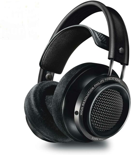 Philips Fidelio X2HR/00 High-Res Noise Cancelling Over-Ear Wired Headphones