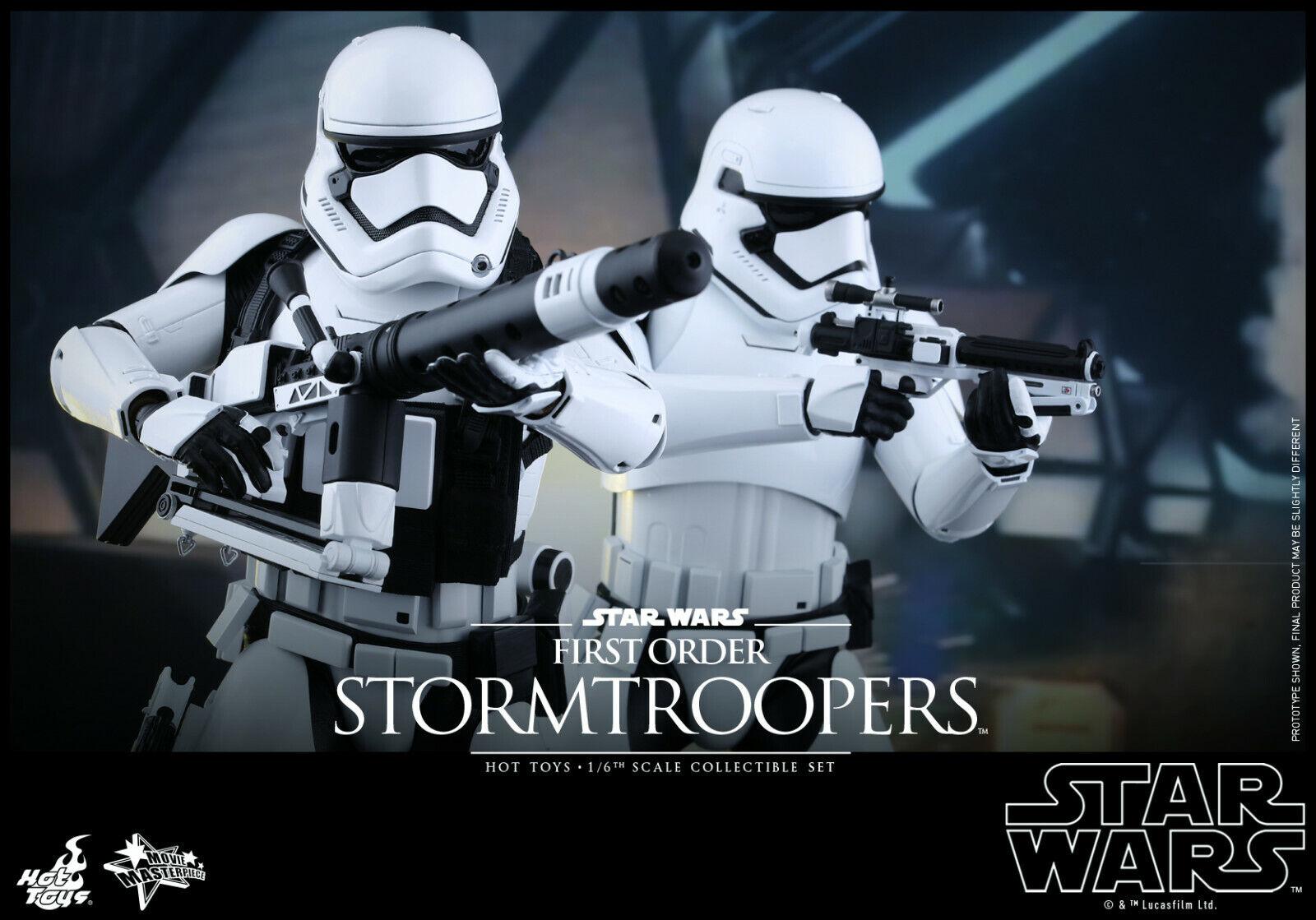 Caliente giocattoli estrella guerras  FORCE AWAKENS STORMTROOPERS SET 12  1 6 azione cifra MMS319  migliore vendita