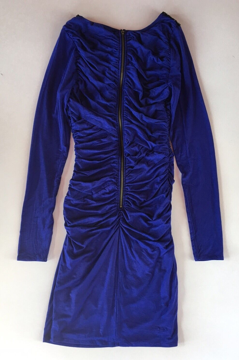 NWT Women's Plenty by by by Tracy Reese bluee purple Embellished Knit Shift Dress-Sz M 43c308