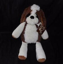 """15"""" SCENTSY BUDDY PATCH THE PUPPY DOG BROWN WHITE STUFFED ANIMAL PLUSH TOY SCENT"""