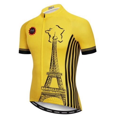 Men/'s Cycling Jersey Skull Clothing Bicycle Short Summer Bike T-Shirt Jersey Top