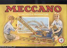 Meccano, manuel  N°4 A  .1954.