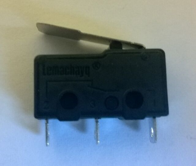 3D Printer Endstop Switch - Mechanical Lever Microswitch - End Stop Clip
