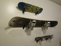 Ski Snowboard Skateboard wall rack storage display mount holder k2 Burton Lamar