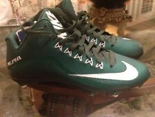 Nike Alpha Pro 2 3/4 D Men's S10 Football Shoes Deep Forest/Black Free Shipping