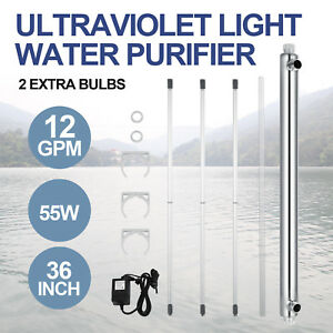 Ultraviolet-Filter-UV-Water-Sterilizer-Purifier-Whole-House-12GPM-55w