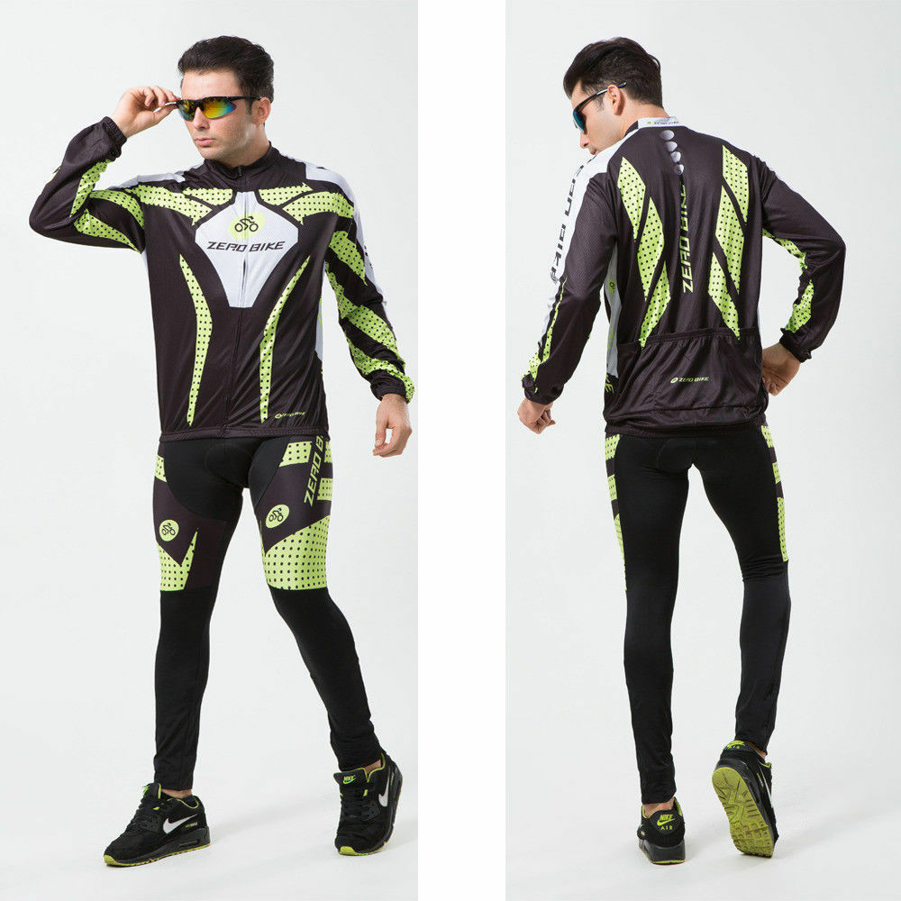 Men's Cycling  Jersey Winter Windproof Bike Bicycle Clothing Fleece Thermal Sets  shop makes buying and selling