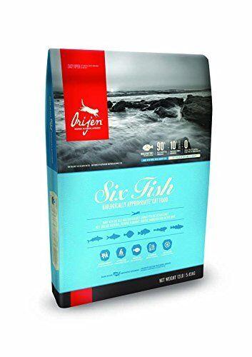 ORIJEN Six Fish Dry Cat Food 12 lb