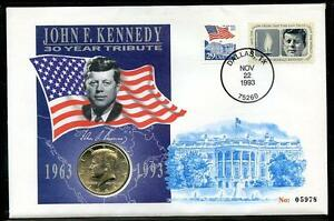 30-Year-Tribute-to-John-F-Kennedy-stamp-amp-coin-cover-2016-10-10-01
