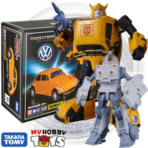 Takara-Tomy-Transformers-Masterpiece-MP-21-Bumblebee-Volkswagen-No-Coin