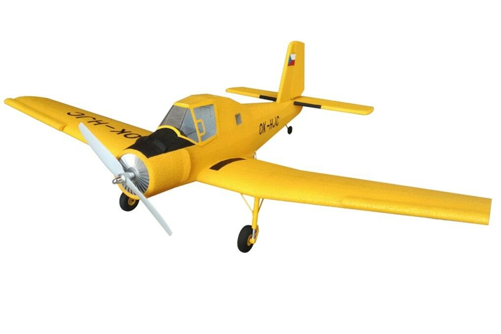 Kor-Model Zlin Z-37 Cmelak Bumblebee Hummel RC Airplane KIT Wingspan 850mm NEW