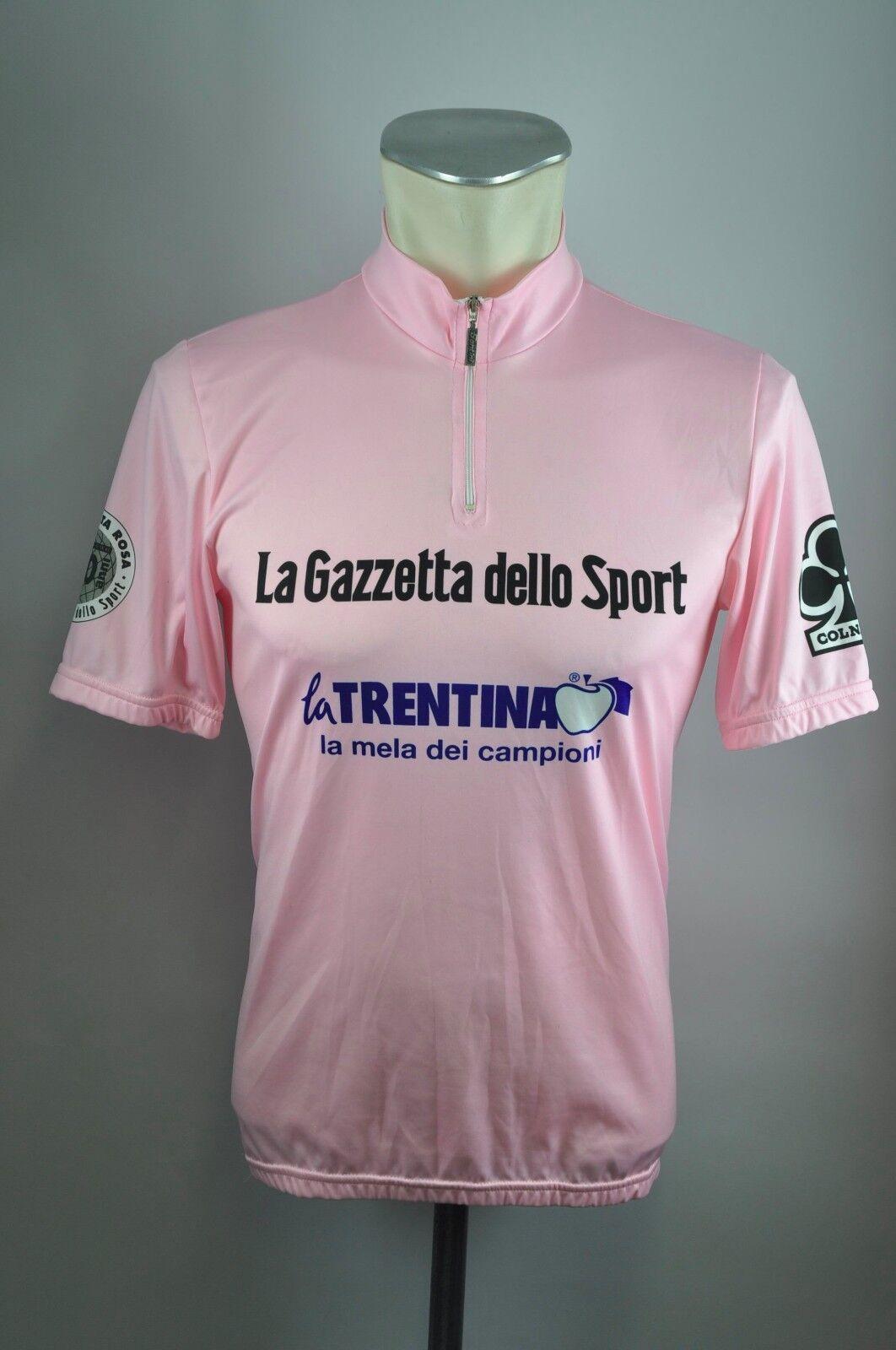 Santini La Gazzetta Trentina Radtrikot cycling jersey Trikot Gr. M BW 50cm KE1