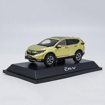 1//43 Dongfeng Honda Dealer Version Alloy Car Model Black Honda CR-V 2021