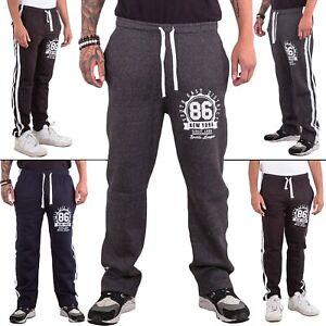 Mens-Trouser-Drawstring-Tracksuit-Bottom-Joggers-Jogging-Gym-Track-Pants-Elastic