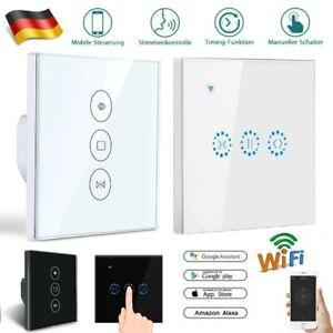 Smart Wifi Rolladenschalter Vorhangschalter mit Touch Schalter APP Steuerung DE