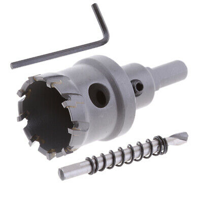 40mm Carbide Tip Tool Cutter Stainless Steel Drill Bit Hole Saw Holesaw