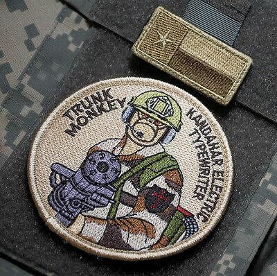 AFSOC TACP AC-130J GHOSTRIDER DEATH ON CALL velkrö SSI Trunk Monkey Door Gunner