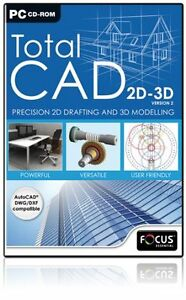 Total-CAD-2D-3D-Version-2-PC-BRAND-NEW-SEALED
