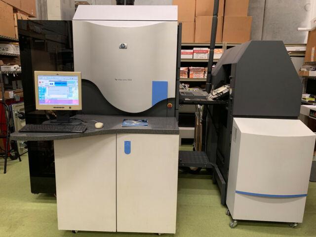 HP Indigo 3050 Digital Printing Press + FREE Bids Washer and Parts Washer