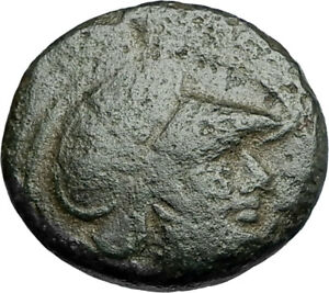 LYSIMACHOS-Thrace-King-305BC-Lampsakos-Ancient-Greek-Coin-ATHENA-TROPHY-i67788