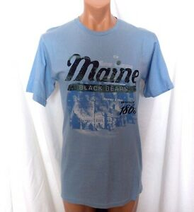 90217075d New MAINE BLACK BEARS NCAA Young Mens Large SOFFE S/S COTTON TEE ...