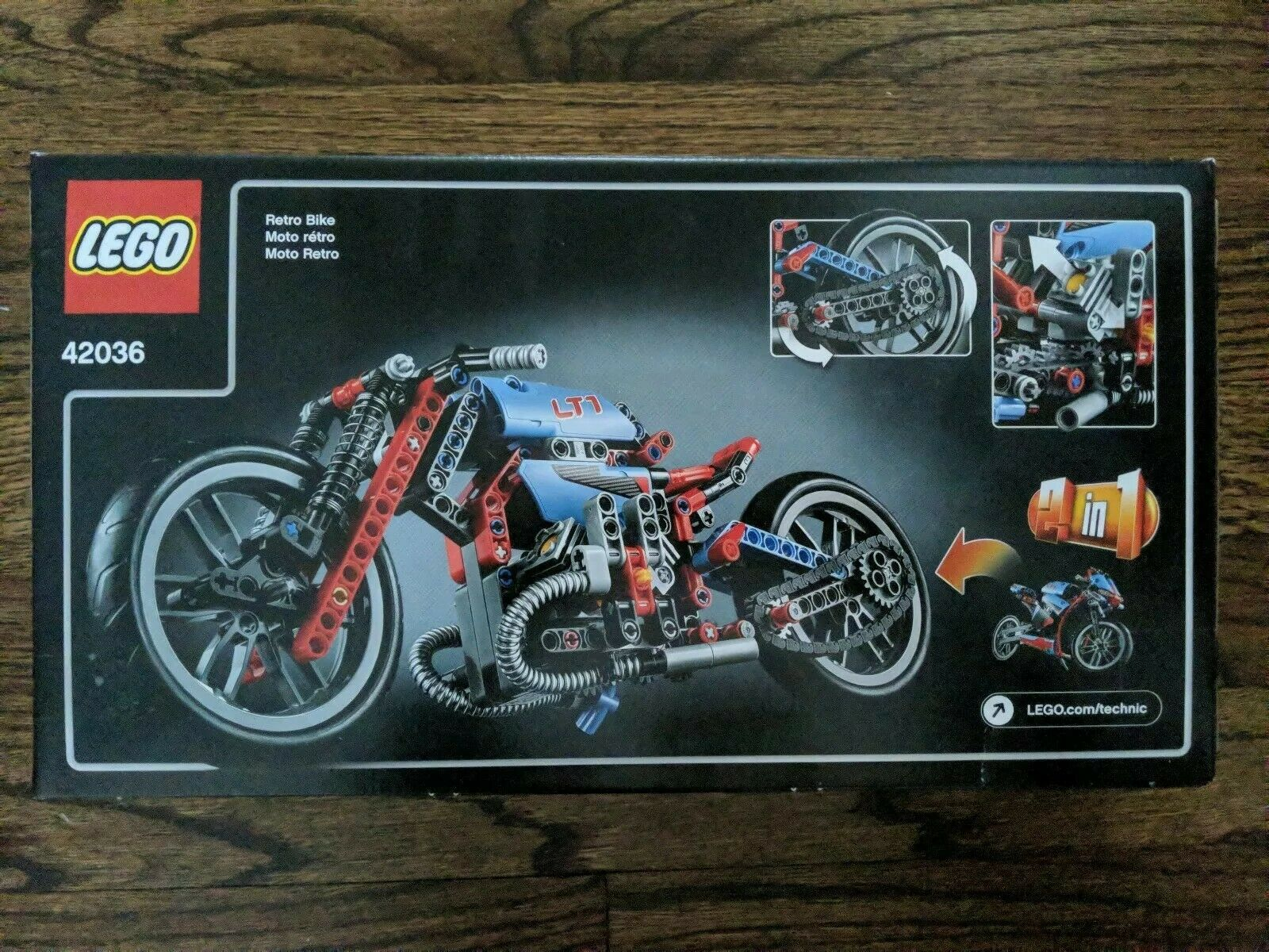 LEGO Technic Street Street Street Motorcycle 42036 - New in Box 008370